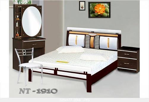 Giường sắ kiểu gỗ cao cấp Đại Thành 1 - 1M6X2M